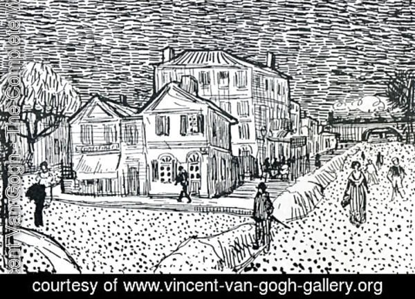 Vincent Van Gogh - The Artist's House in Arles