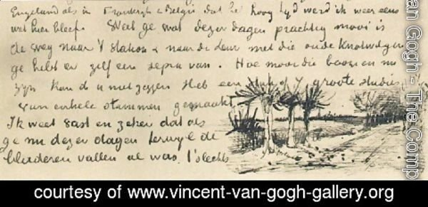 Vincent Van Gogh - Road with Pollard Willows 3