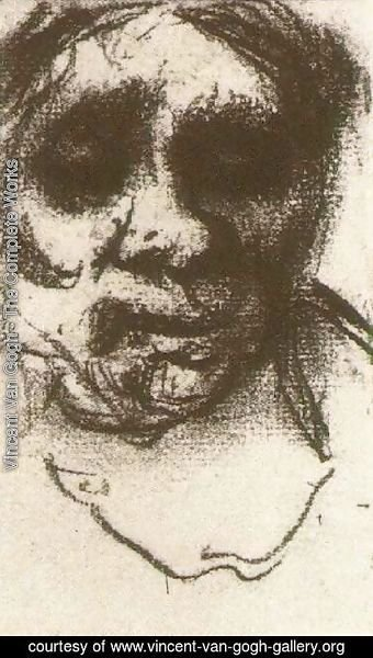 Vincent Van Gogh - Peasant Woman, Head 12