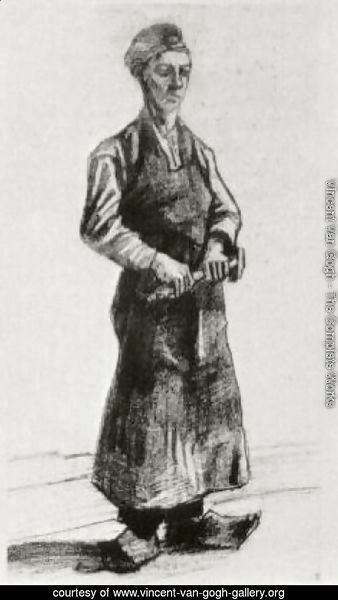 A Carpenter with Apron