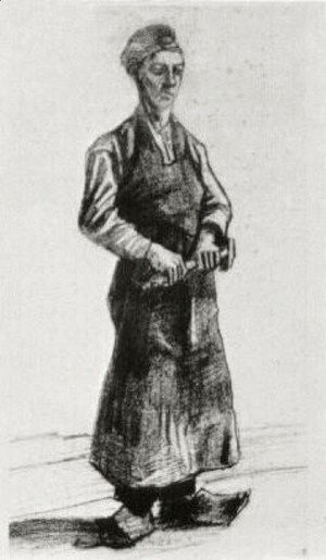 Vincent Van Gogh - A Carpenter with Apron
