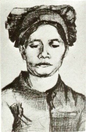 Vincent Van Gogh - Peasant Woman, Head 13
