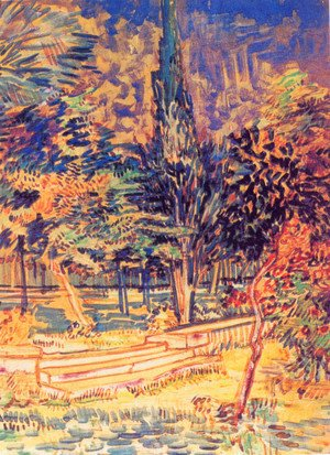 Vincent Van Gogh - Stone Steps in the Garden of the Asylum