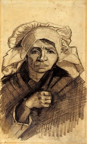 Vincent Van Gogh - Head of a Woman 20