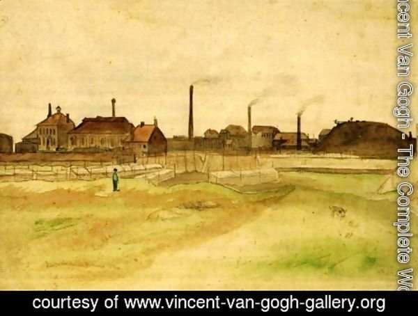 Vincent Van Gogh - Coalmine in the Borinage