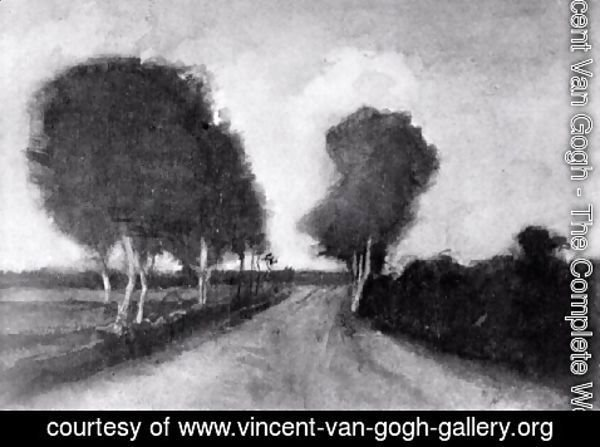 Vincent Van Gogh - Country Lane with Trees
