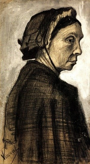 Vincent Van Gogh - Head of a Woman 22