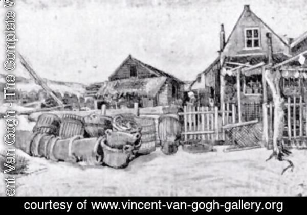 Vincent Van Gogh - The fish drying barn at Scheveningen