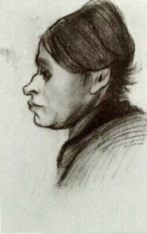 Vincent Van Gogh - Peasant Woman, Head 14