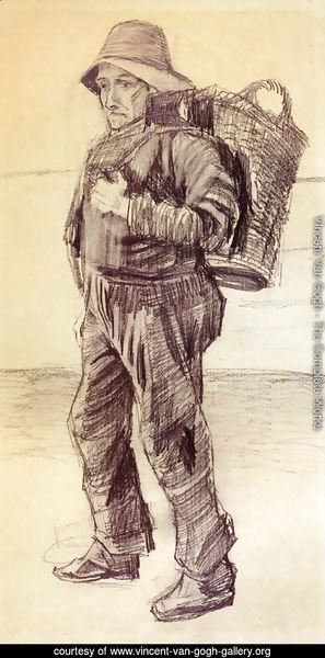 Fisherman with Basket on his Back