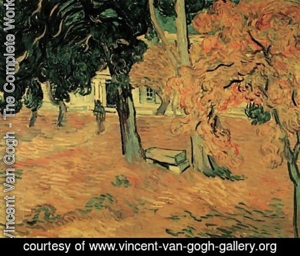 Vincent Van Gogh - The Garden of Saint-Paul Hospital 2