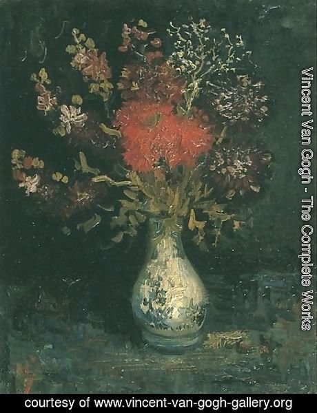 Vincent Van Gogh - Vase with Flowers