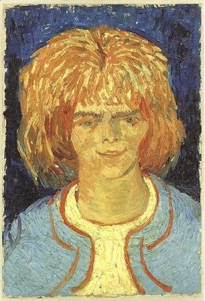 Vincent Van Gogh - Girl with Ruffled Hair (The Mudlark)