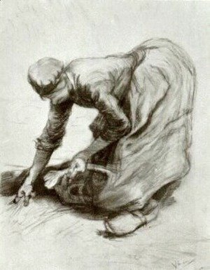 Peasant Woman, Stooping 2