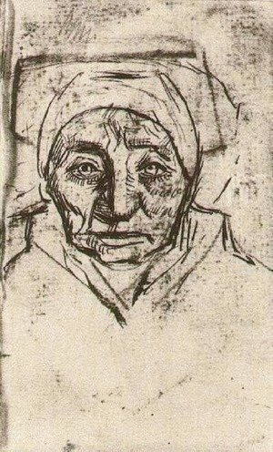 Vincent Van Gogh - Peasant Woman, Head 15