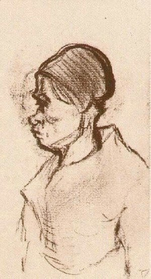 Vincent Van Gogh - Peasant Woman, Head 16