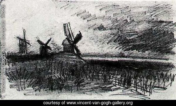 Windmills at Montmartre