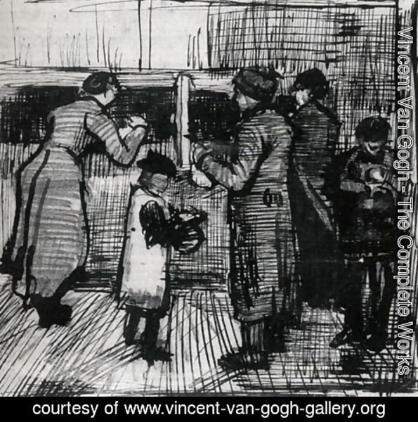 Vincent Van Gogh - The Public Soup Kitchen 2