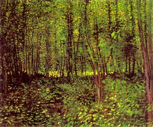 Vincent Van Gogh - Trees and Undergrowth 3