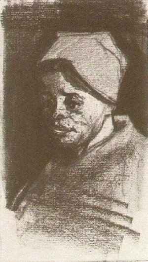 Vincent Van Gogh - Peasant Woman, Head 17