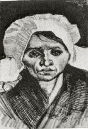 Vincent Van Gogh - Peasant Woman, Head 18
