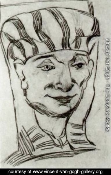 Vincent Van Gogh - Mask of an Egyptian Mummy 2