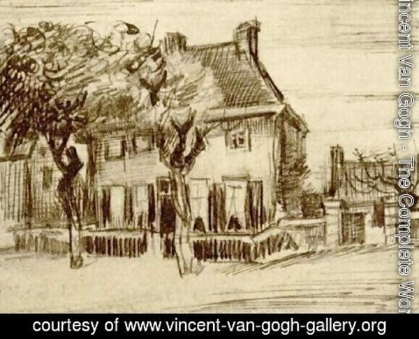 Vincent Van Gogh - Vicarage at Nuenen 3
