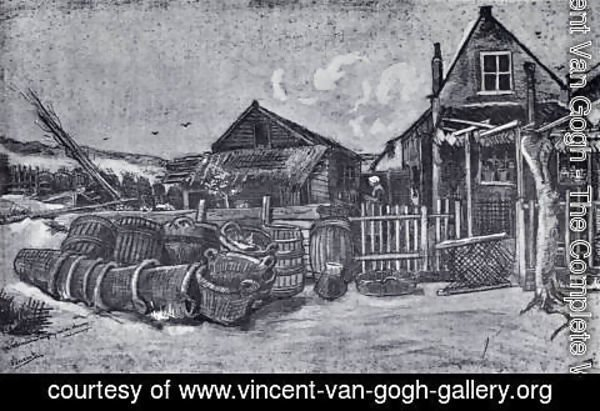 Vincent Van Gogh - Fish-Drying Barn in Scheveningen