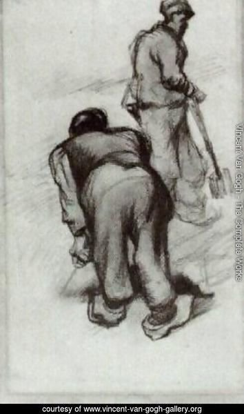 Study of Two Peasants 2
