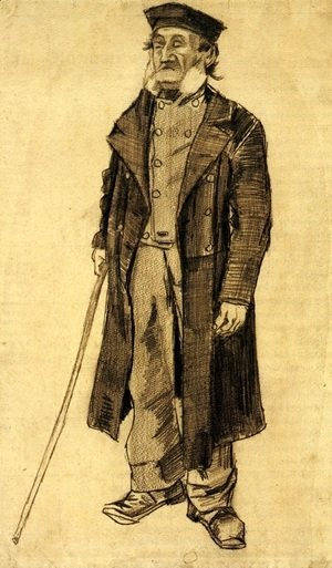 Vincent Van Gogh - Old Man with a Stick