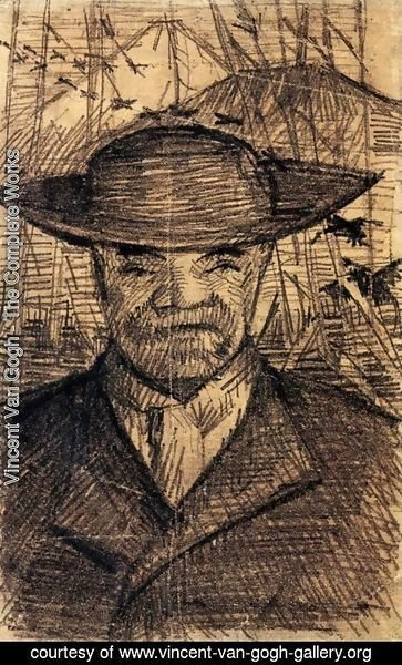 Vincent Van Gogh - Portrait of Pere Tanguy 2