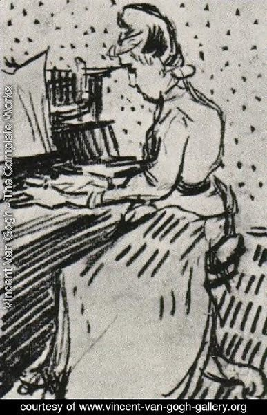 Vincent Van Gogh - Mademoiselle Gachet at the Piano