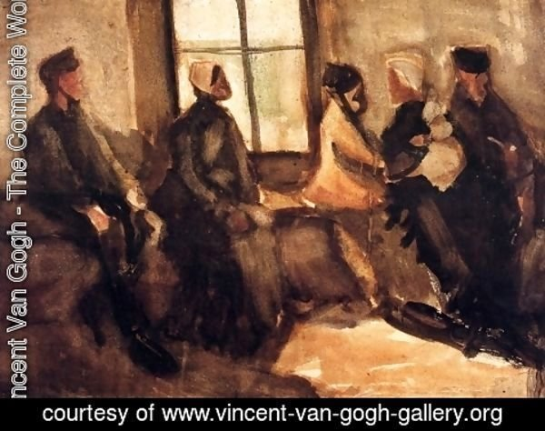 Vincent Van Gogh - Waiting Room