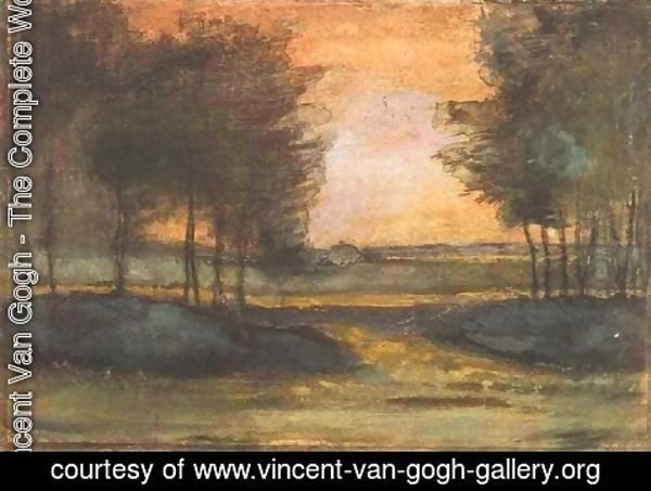 Vincent Van Gogh - The Landscape in Drenthe