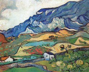 Vincent Van Gogh - Les Alpilles, Mountain Landscape near South-Reme