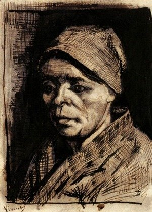 Vincent Van Gogh - Head of a Woman 25