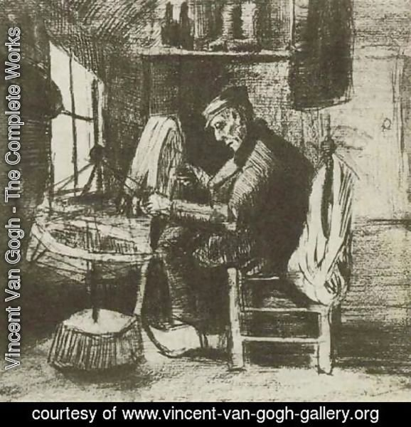 Vincent Van Gogh - Old Man Reeling Yarn
