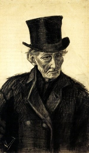 Vincent Van Gogh - Old Man with a Top Hat
