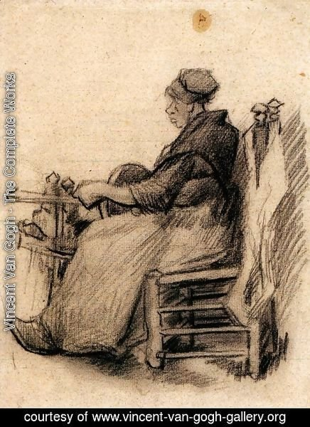 Vincent Van Gogh - Woman Winding Yarn 2