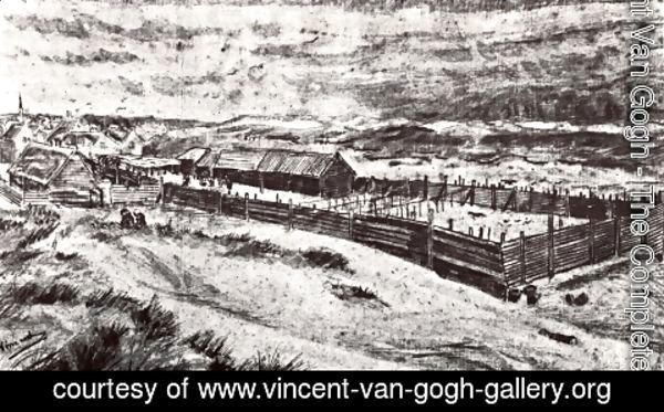 Vincent Van Gogh - Fish-Drying Barn