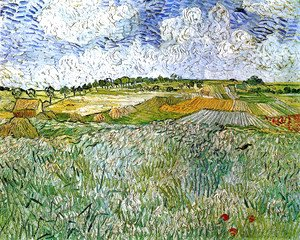 Vincent Van Gogh - The Plain at Auvers