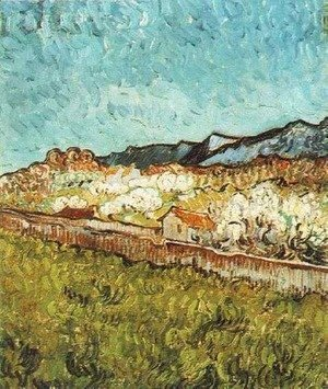 Vincent Van Gogh - At The Foot Of The Mountains