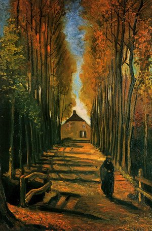 Vincent Van Gogh The Complete Works Autumn Landscape Vincent Van Gogh Gallery Org