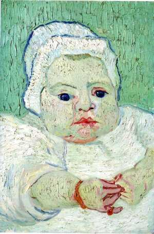 Vincent Van Gogh - Baby Marcelle Roulin The III