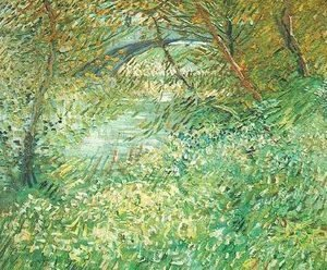 Vincent Van Gogh - Banks Of The Seine With Pont De Clichy In The Spring