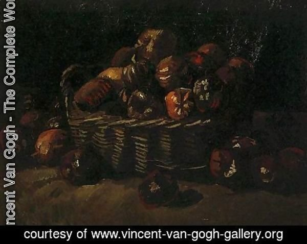 Vincent Van Gogh - Basket Of Apples II