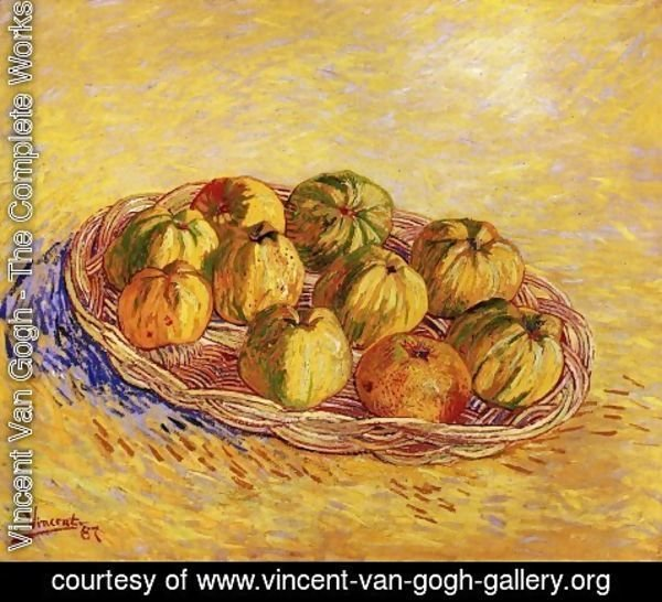 Vincent Van Gogh - Basket Of Apples III