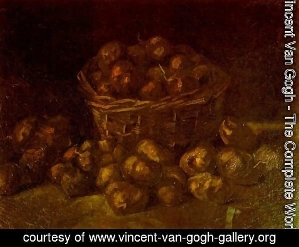 Vincent Van Gogh - Basket Of Potatoes II