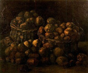 Vincent Van Gogh - Baskets Of Potatoes