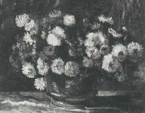 Vincent Van Gogh - Bowl With Chrysanthemums